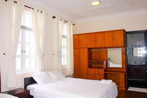 Không gian phòng ngủ rộng rải