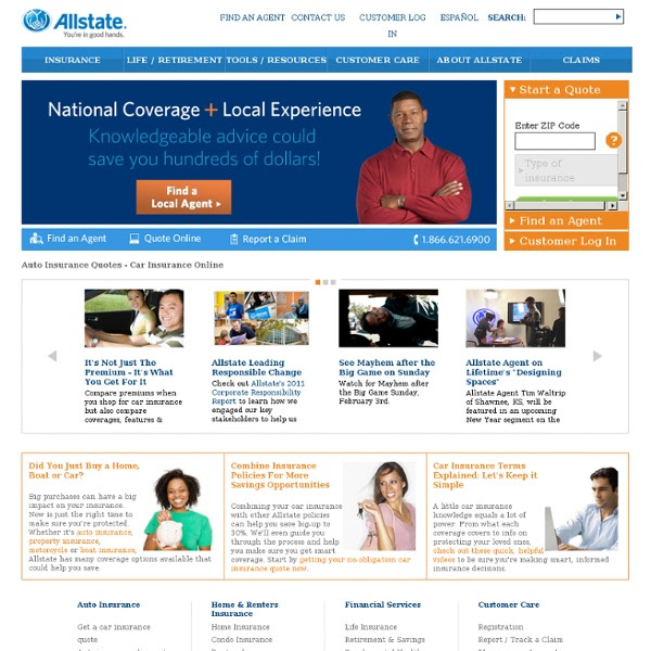 Insurance Quotes Health Insurance Quotes Allstate