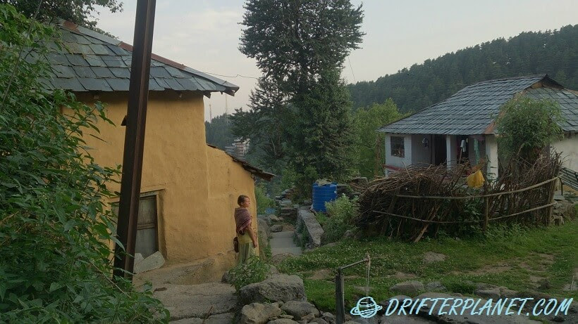 Dharamkot Village in Himachal