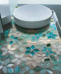 Glass for tile