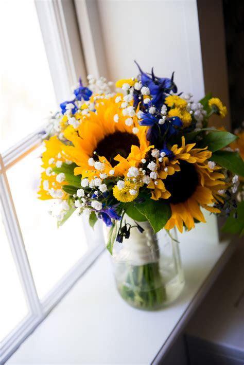 {Royal Blue & Sunflower Yellow} Summer Wedding Kristin
