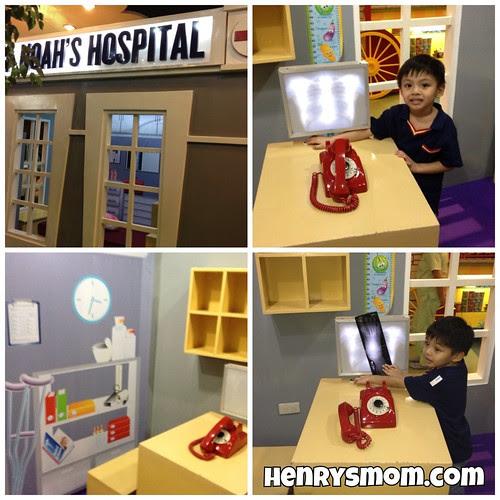 A Mini Hospital at the Pretend Village