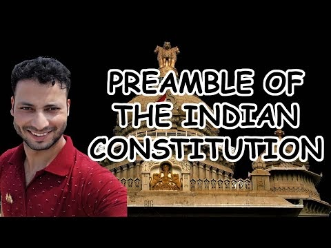 Preamble Of The Indian Constitution | Explained Every Word | Indian Polity | 2020