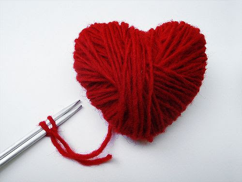 crafty red heart