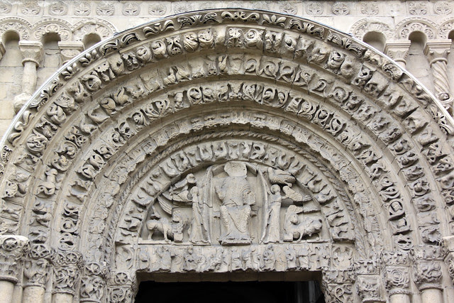 Rochester Cathedral - tympanum