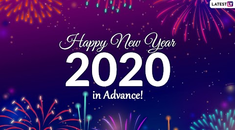 Advance Happy New Year 2020 Images