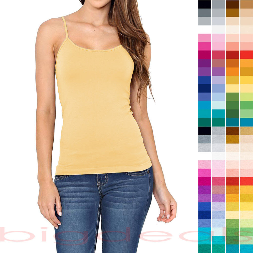 Camisole top coloured tops