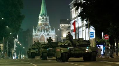 Названы даты репетиций парада Победы в Москве