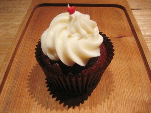 vegan red velvet cupcake from cupcake central