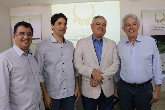 José Vieira, Felipe Maia, Edilson Trindade (Fiern) e Joao Maia
