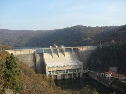 Ivaylovgrad-dam-wall