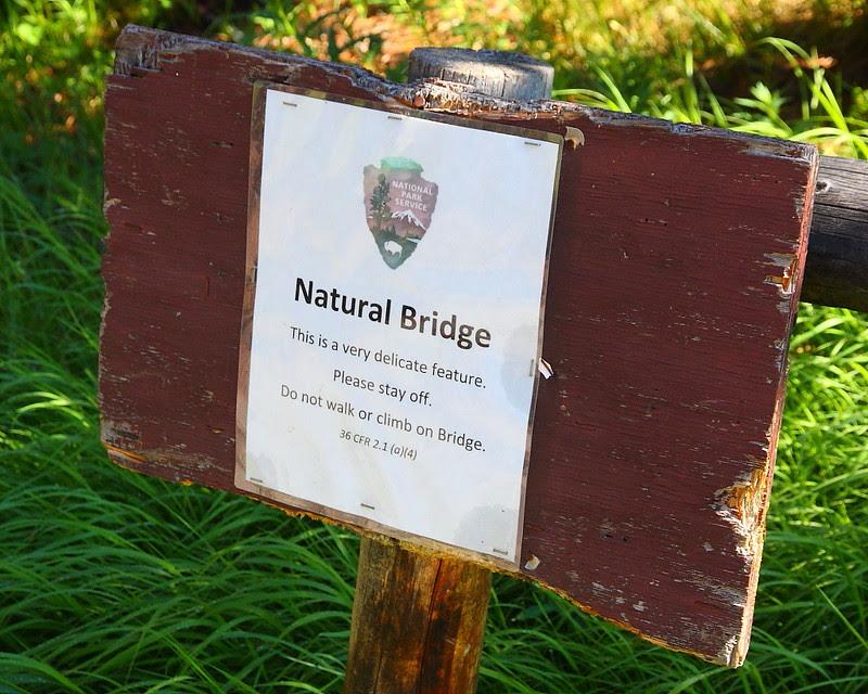 IMG_9431 Natural Bridge, Yellowstone National Park