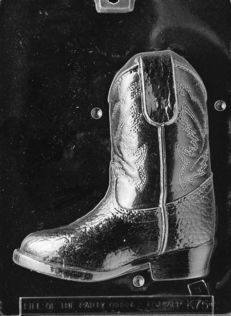 3D Cowboy Boot PC2 Mold   Cake Art