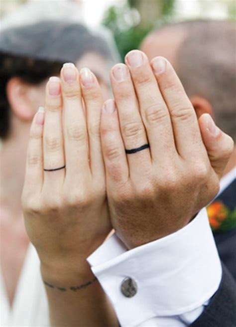 40  Sweet & Meaningful Wedding Ring Tattoos