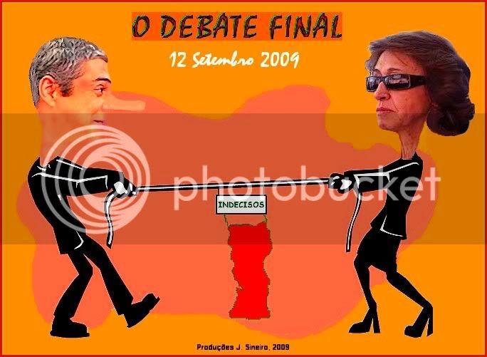 O Combate Final Legislativas 2009 by J Sineiro