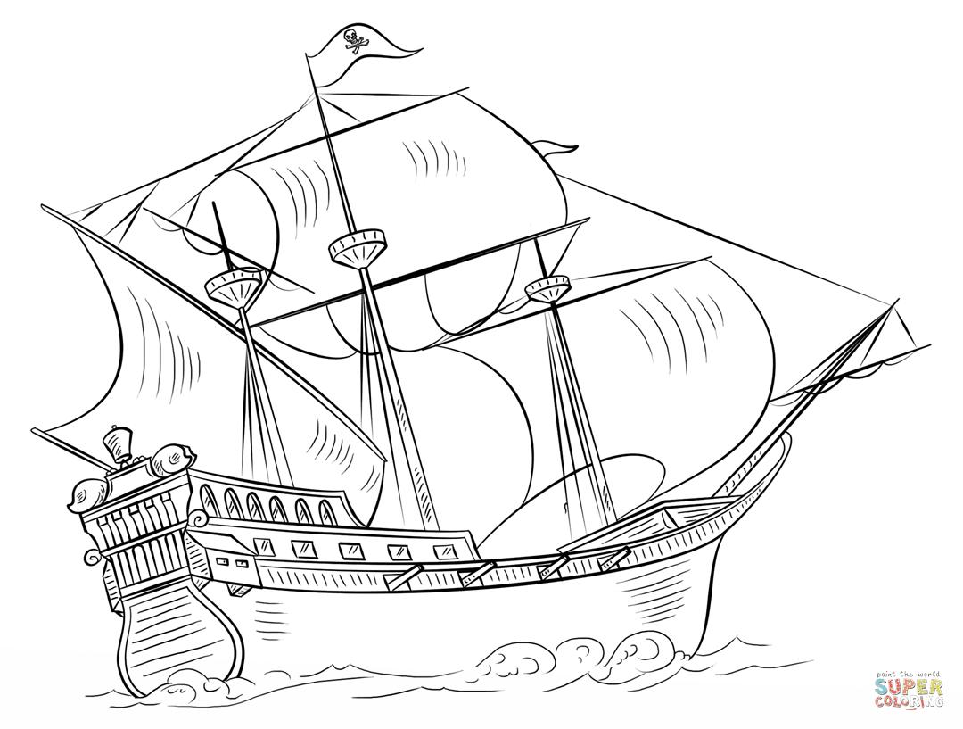 Klick das Bild Piratenschiff