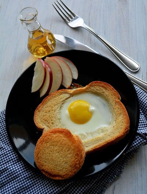 Baked Egg Bread Slices, perfect breakfast dish for kids ...