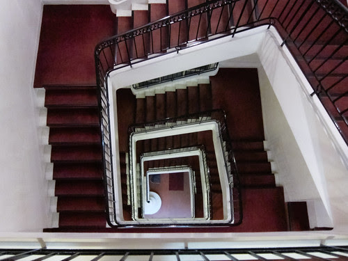 Escalier de l'Hôtel de France