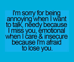 I Am Sorry I Am Just Afraid To Lose You Pictures Photos And Images
