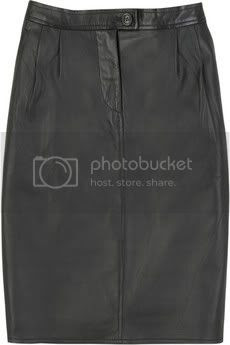 Wardrobe Must Have: Black Leather Skirt