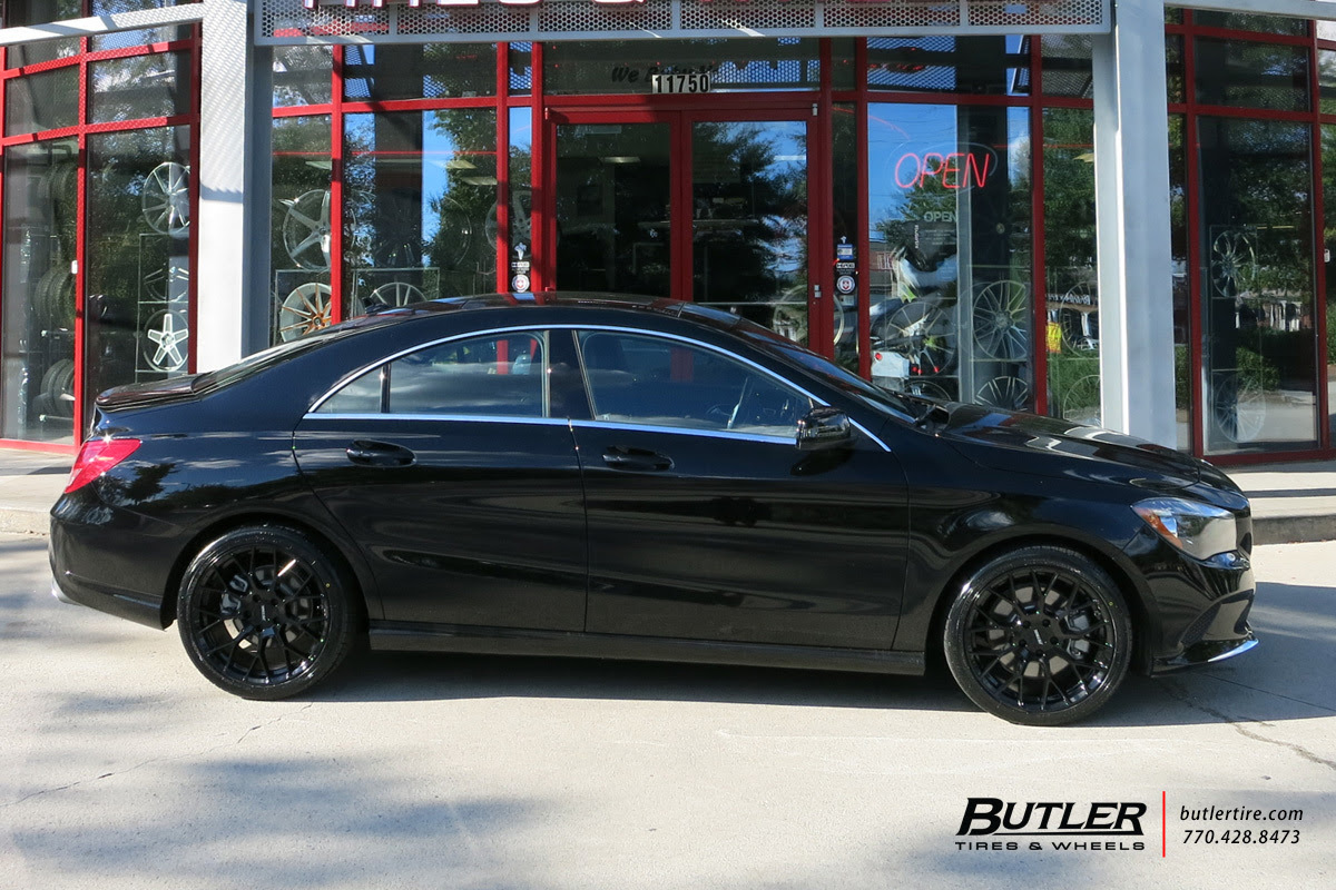Mercedes Cla With 18in Petrol P2b Wheels Exclusively From Butler Tires And Wheels In Atlanta Ga
