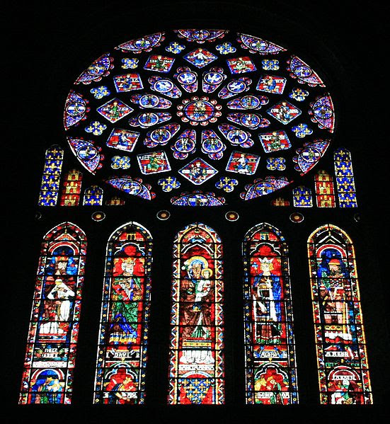 File:Chartres Cathedral North Transept North Rose Window 2007 08 31.jpg