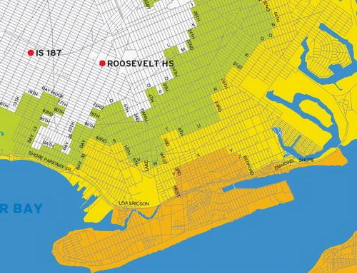 Southern Brooklyn Flooding Map