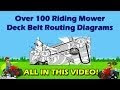 John Deere 42 Inch Mower Deck Belt Diagram