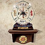 Fireman Heritage Plate Shelf