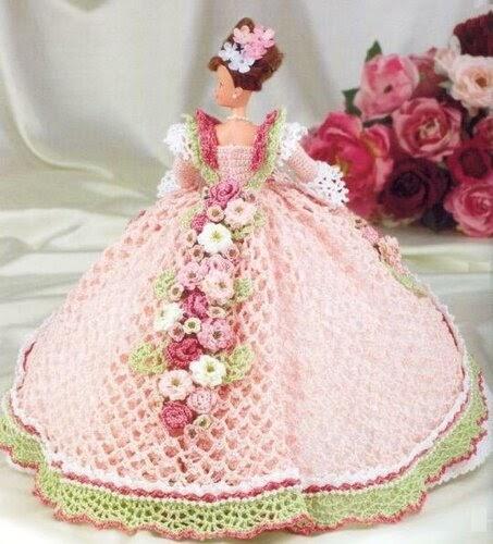 Уроки вязания: Вязаные Платья Для Барби Схемы