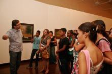 Flávio Krawczyk (foto) falou sobre a Porto Alegre retratada nos quadros