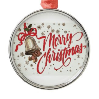 Merry Christmas Ornament ornament