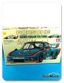 Maqueta de coche 1/20 SpotModel - Tamiya - Porsche 935 Turbo
