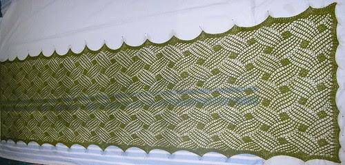 Lattice Lace Wrap  -