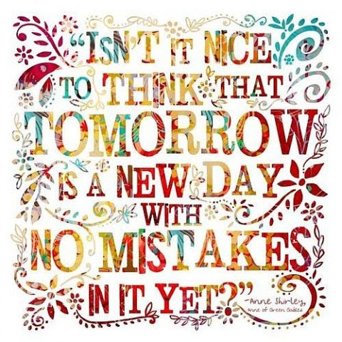 Tomorrow Is A New Day Quote Picture