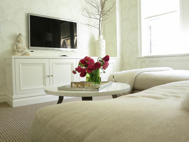 Suzie: Christina Murphy Interiors - NY Social Diary - Zen media room with Oly Studio Pico ...