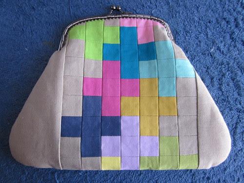 Pretty little pouch swap - front
