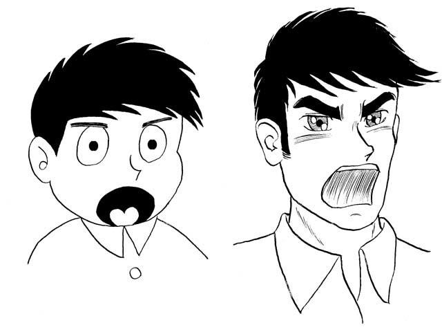漫畫 vs. 劇畫