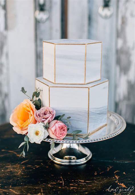 Wedding Trends : Marble Wedding Cakes   Belle The Magazine