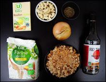 Rôti de noix vegan vegetalien