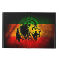 Cori Reith Rasta reggae lion Case For iPad Air