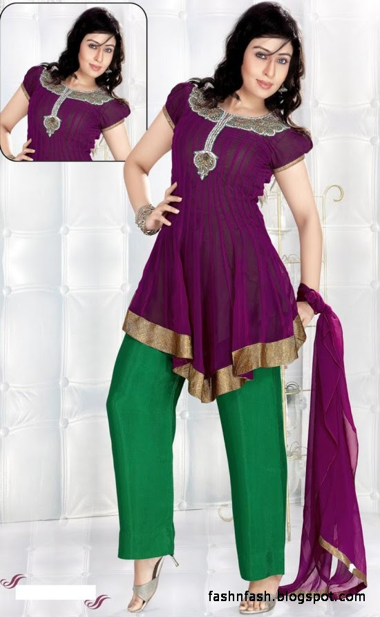 Anarkali Fancy Frocks-Indian-Pakistani Anarkali Umbrella Frocks New Latest Collection Dress Designs-7