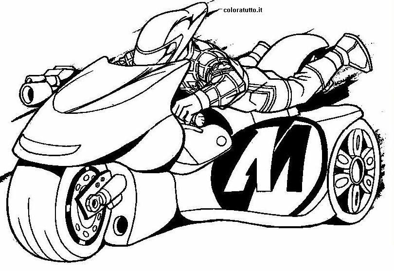 Miglior Collezione Moto Spiderman Da Colorare Disegni Da Colorare