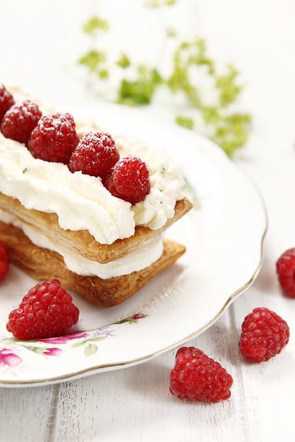 raspberry lemon dessert