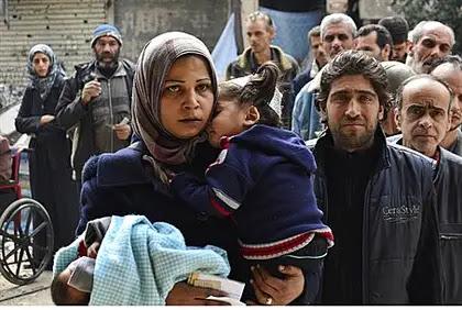 Residents of Yarmouk (illustration)