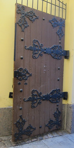 an old door by Anna Amnell