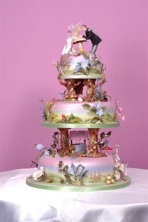 Best 25  Fairytale wedding cakes ideas on Pinterest