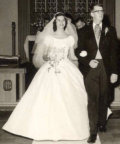 1957 massachusetts wedding    gown by house of bianchi