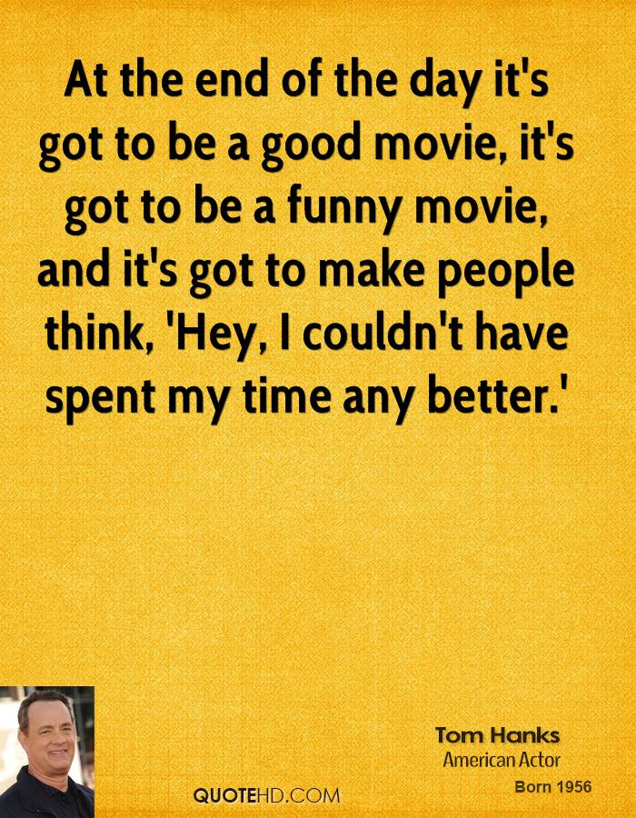Tom Hanks Funny Quotes Quotehd