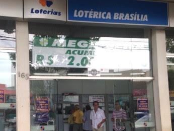 É a primeira vez que um prêmio tão alto sai na Lotérica Brasília em Cianorte (Foto: Arquivo pessoal/ Leonardo Dalarme)